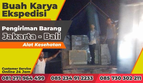 Jasa Ekspedisi Pengiriman Barang Jakarta Bali Alat Kesehatan
