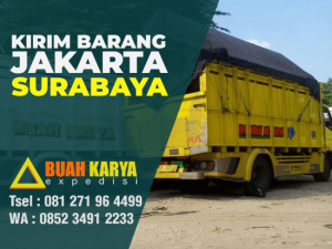 Jasa Pengiriman Barang Jakarta Surabaya