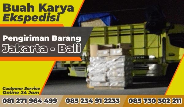 Pengiriman Barang Jakarta Bali Mataram 1 Peti Lampu