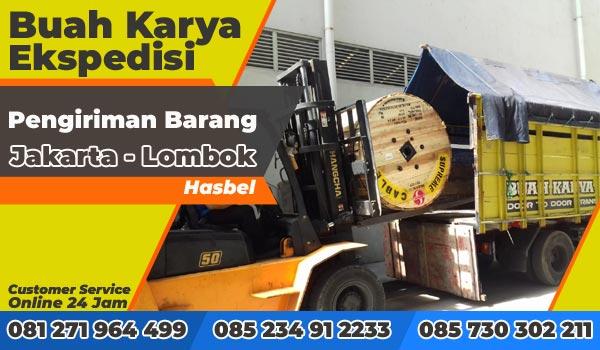 Pengiriman Barang Jakarta Lombok Barat Hasbel