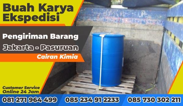 Pengiriman Barang Jakarta Pasuruan Drum Cairan Kimia