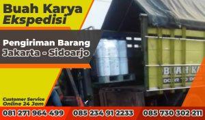 Pengiriman Barang Jakarta Sidoarjo, Jawa Timur 200 Galon Tinta