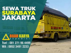 Sewa Truk Surabaya Jakarta