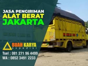 Jasa Pengiriman Alat Berat Jakarta timur