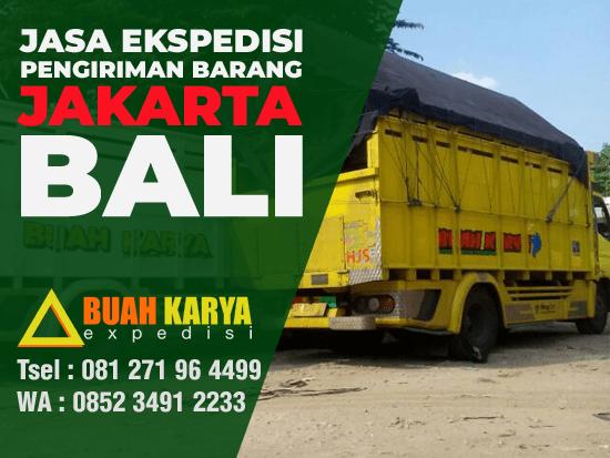 Jasa Ekspedisi Pengiriman Barang Jakarta Bali